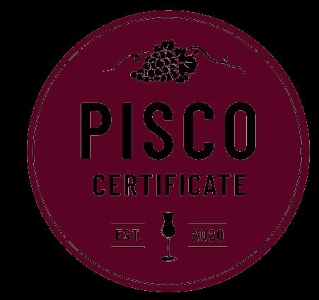 pisco, peruvian pisco, pisco certificate